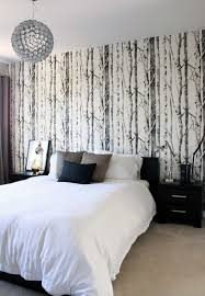 15 Bedroom Wallpaper Ideas Styles Patterns And Colors Black Accent WallsBedrooms