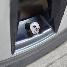 100 Skull Truck Rims Unique Tire Air Valve Stem Caps Skull Wheel For Car