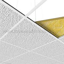 Soundproof Above Drop Ceiling by Drop Ceiling Sound Barrier Tile Tmsoundproofing