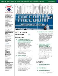Tarheel Wheels - Spring 2017 North Carolina Trucking Association Company News Swing Transport Inc Drivers Usa Truck Indocadian Truck Drivers From Gta Caught In Web Of American Driving Championships Motor Carriers Montana Inc Ncta Foundation Golf Home Nc Industry Transportation Service Joseph Soliz Joetheshowsoliz Twitter Indiana Facebook Member Interview Chris Hill Youtube