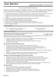 Manager Resume Samples Stunning Simply Examples Of Executive Administrative Assistant Resumes