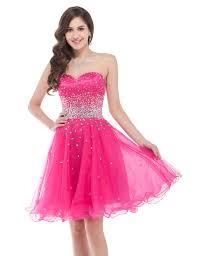 new design summer girls simple graduation dress pink short
