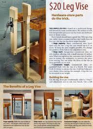 DIY Leg Vise O WoodArchivist