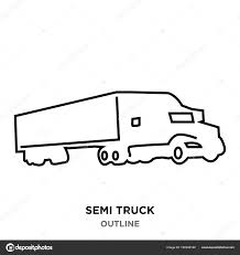 Semi Truck Outline On White Background — Stock Vector © Vectorgalaxy ... Simple Outline Trucks Icons Vector Download Free Art Stock Phostock Garbage Truck Icon Illustration Of Truck Outline Icon Kchungtw 120047288 Dump Royalty Image Semi On White Background F150 Crew Cab Aliceme Isometric Idigme Drawing 14 Fire Rcuedeskme Lorry Line Logo Linear