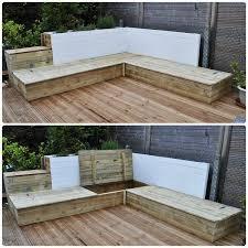 fabriquer un canapé en bois stunning construire salon de jardin en bois photos design