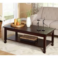 Walmart Larkin Sofa Table by Zenith 3 Piece Cocktail And End Tables Value Bundle Espresso