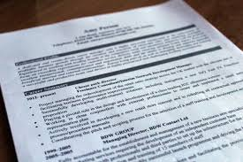 3 Ways To Write A Resume For Non Profit Agency