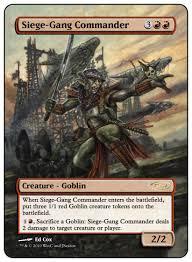 Goblin Commander Deck 2014 by Cubetutor Com Pghxc U0027s Power Cube 16456 Cube Deck 304989