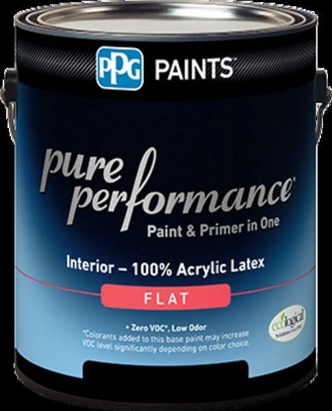 Paint,Int Flat Pure White,Gl by PPG Industries, Inc | Garage | Best Price Guarantee | Delivery Guaranteed | Free Shipping on All orders