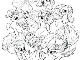 Coloring Pages Mlp Stunning Image My Little Pony To Print The Movie