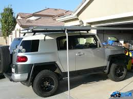 Awning Mounts Added To Bajarack - Toyota FJ Cruiser Forum Toyota Fj Cruiser Modified Coreys 2007 Built For Expedtionoverland Daily Official Awning Thread 4runner Forum Largest Into The Wild Build Page 3 Expedition Portal Post The Latest Photo Of Your And You Could Win A Free Tshirt Fab Fours 0712 Winch Bumper W No Grille Guard Fj07a17511 Gobi Arb Support Brackets Jeep Wrangler Jk Jku 8 Mount To Suit Oem Rack Bajarack Australia 5 Overland Bound Mileage With Full Eo2 Roof Rack Kit Show Me Awnings 2