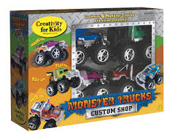 Creativity For Kids Monster Trucks Custom Shop | Magic Beans