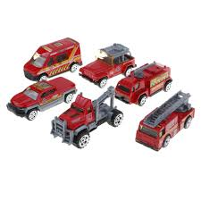 100 Model Fire Trucks MagiDeal 164 Diecast Car Kids Police Car Army