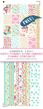 Free Planner Printables Summer Love