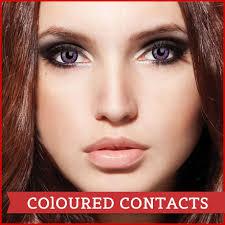 Blue Prescription Halloween Contacts by Crazy Contact Lenses Coloured Contact Lenses Halloween Costume