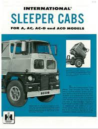 A Series Sleeper Cab Brochure And ACO Model Discussion | BinderPlanet