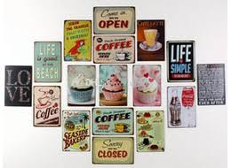 New Arrive Cake Dessert CAFE BAR Kitchen TIN SIGN Wall Metal Painting Vintage Retro Poster Home Decor Art Decoration