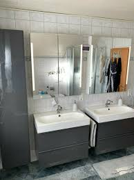 badmöbel set ikea 2x waschtisch 2x spiegelschrank