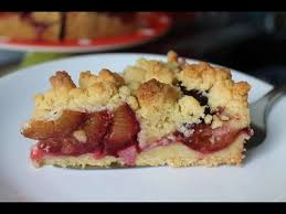 schneller pflaumenkuchen mit streuseln simple easy plum crumble cake eng subs