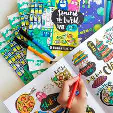 National Book Store On Twitter NBSfinds AROUND THE WORLD WITH GOOGLY GOOEYS A COLORING BOOK FOR ADULTS By Googlygooeys P275