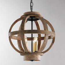Mini Wood Globe Lantern Light Up Your World With This Charmingly Rustic