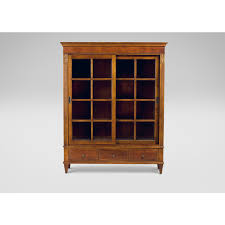english sheraton hepplewhite cabinet case piece display cabinet