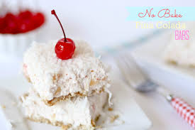 No Bake Pina Colada Bars Confessions of a Cookbook Queen