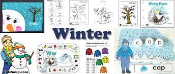 Winter Preschool Activities Crafts Lessons And Craft For Preschoolers Games