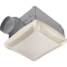 nutone 50 cfm ceiling bathroom exhaust fan with light 763rln the