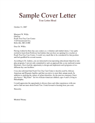 Free Cover Letter Examples Teacher Writing A
