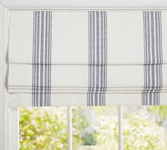 Riviera Stripe Cordless Roman Shade | Pottery Barn | Guest Bedroom ... Decor Interesting Pottery Barn Blackout Curtains For Interior Kitchen Window Cauroracom Just All About Best 25 Modern Roman Shades Ideas On Pinterest Roman Shades Fearsome On Home Decoration Dning Decorating Thermal Alluring Charming Blinds Bedroom Treatments Ding Room White Coverings Types Of Door Design Den Office Traditional With Formal 116488 Kids Harper