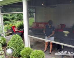 Roll Up Patio Screens by Retractable Screens For Patio U0026 Lanai Stoett Industries