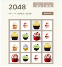 This Version Of 2048 Is A Creative One That Chrismas Cupcakes Replaced The Numbers Inspired By Game We Want To Build Up Our Own