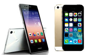 Huawei Ascend P7 vs Apple iPhone 5s which is the better smartphone