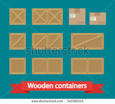 Cargo Boxes Icon Vector Flat Isolated On The White Background Illustration