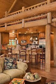 Log Cabin Kitchen Lighting Ideas by Best 25 Log Home Kitchens Ideas On Pinterest Log Cabin Kitchens