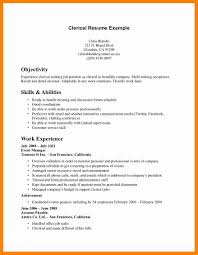 9+ Sample Clerical Resume | Sap Appeal Clerical Cover Letter Example Tips Resume Genius Sample Administrative New Rumes Examples Of 15 Mmus Form Provides Your Chronological Order Of Objectives For Positions Study Cv Samples Office Job Post Objective 10 Data Entry Jobs Proposal Letter Free Elegant Inventory Clerk What Makes Information 910 Examples Clerical Rumes Soft555com