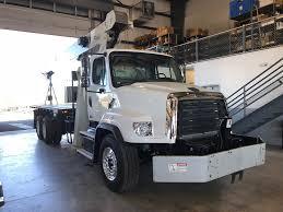 100 White Freightliner Trucks 2013 114SD Boom Bucket Truck For Sale City