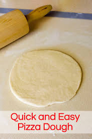Quick And Easy Pizza Dough Hillmadeblogspot You Can