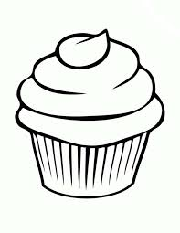 Drawn cupcake candle drawing 15