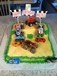 Nicolo's Monster Truck Birthday Cake For His 6th Birthday. | My ... Monster Truck Cupcakes Archives Kids Birthday Parties Monster Truck Party Ideas At In A Box Cakes Decoration Little Fire Cake Wedding Academy Creative Coolest Car My Practical Guide Design Birthday Party Ideas Carters Bday Pinterest Laraes Crafty Corner What Ive Been Creatively Quirky Home May 2012 Monster Drink Banner