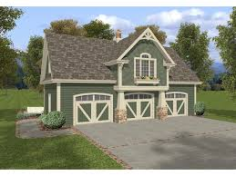 Two Story Craftsman Style Apartment Garage With Planter Box