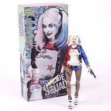 Crazy Toys Suicide Squad Harley Quinn Joker 112th Scale PVC