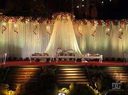 Best Outdoor Wedding Stage Decoration New Photos Latest Ideas