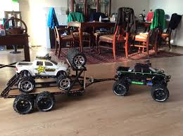 100 Custom Rc Trucks Traxxas Summit W Newly Designed Trailer And Custom E Maxx On