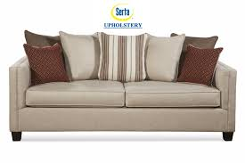 Levon Sofa Charcoal Upholstery by Serta Upholstery By Hughes Reflex Sand Sleeper Sofa Dream Rooms