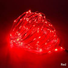 LED Copper String Lights For Xmas Garland Party Wedding Decoration Christmas Tree Flasher Fairy 5M