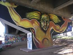 Chicano Park Murals Map by Colossus Painting In Chicano Park