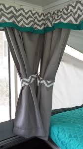 Flexible Curtain Track For Rv by Our Pop Up Camper Remodel We Were Gifted An Awesome Garage Kept