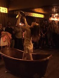 bathtub gin burlesque brunch bathtub gin bars in chelsea new york